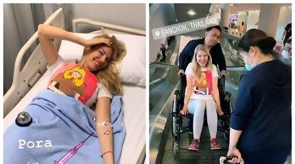 Modelis Solveiga Mykolaitytė pateko į ligoninę Bankoke: patyrė nugaros traumą