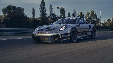 """Naujasis """"Porsche 911 GT3 Cup"""": kiek sveria jo pavarų dėžė ir kada išvysime lenktynių trasose?"""