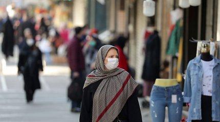 """Teherane naktį sprogo """"garsinė bomba"""", apie nukentėjusius nepranešta"""