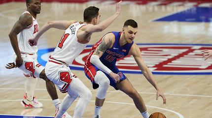 """Nebereikalingas – po dviejų dienų: """"Pistons"""" vėl atsisakė Deivido Sirvydžio"""