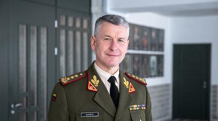 Lietuvos kariuomenės vadas Ukrainoje stebės bendras pratybas