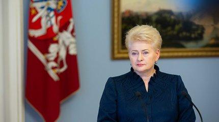 G.Nausėdą prezidentūroje priėmusi D.Grybauskaitė: jaučiu didžiulę žmogišką pareigą padėti