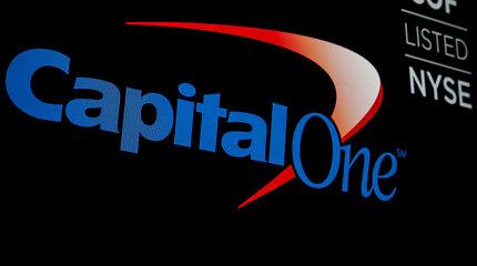 """Dėl duomenų saugumo pažeidimo JAV banke """"Capital One"""" nukentėjo per 100 mln. žmonių"""