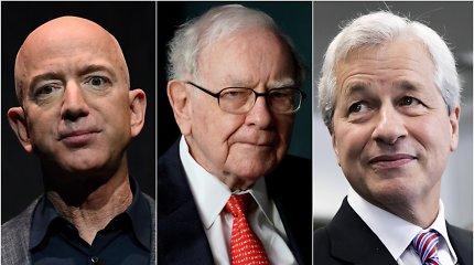 """Amazon"", ""Berkshire Hathaway"" ir ""JPMorgan Chase"" stabdo bendros įmonės ""Haven"" veiklą"