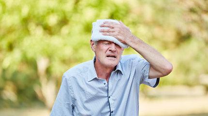 Neurologas J.Fišas: kaitra – ekstremalus išbandymas galvai. Kaip apsisaugoti?