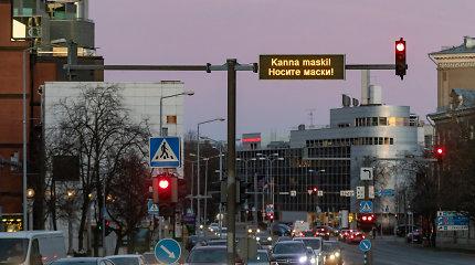 Estijoje nustatyta 290 naujų COVID-19 atvejų, keturi pacientai mirė