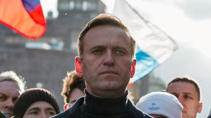 A.Navalno fondas prašo kelti bylą dėl neteisėto cheminio ginklo kūrimo ir kaupimo