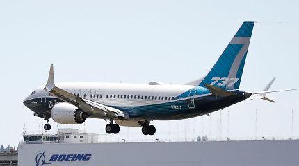 """""""Boeing"""" gavo pirmąjį nuo lapkričio orlaivių """"Boeing 737 MAX"""" užsakymą"""