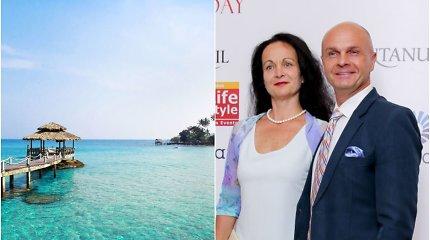 Arminas Lydeka su žmona įstrigo Balyje: skrydžiai atšaukti, URM raminimai nepadeda