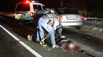 """Veiksmo filmo vertas gaudynes Panevėžyje vertins ir teisėjai: """"Audi"""" lėkė visuotinai pavojingu būdu"""