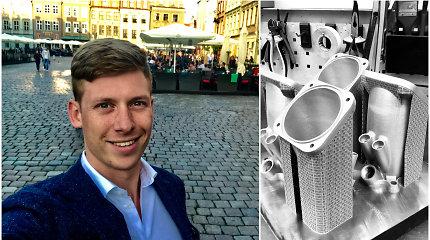 Vilniečiai pasiūlė paslaugas, kurių Lietuvoje niekam neprireikė: 3D gaminius eksportuoja visoje Europoje