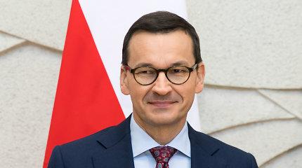 Lenkijos premjeras atvyks į Lietuvą su S.Skverneliu pasižiūrėti krepšinio