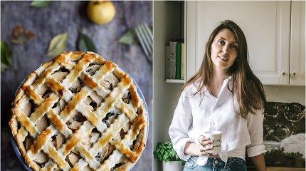 """""""Duonos ir žaidimų"""" receptas: pikantiškas obuolių pyragas su vištiena ir pelėsiniu sūriu"""