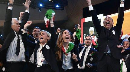 Latviai pralaimėjo – 2026 metų žiemos olimpinės žaidynės vyks Italijoje
