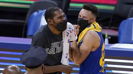 """K.Duranto sugrįžimo į Oklendą rungtynėse – įtikinama """"Nets"""" pergalė"""
