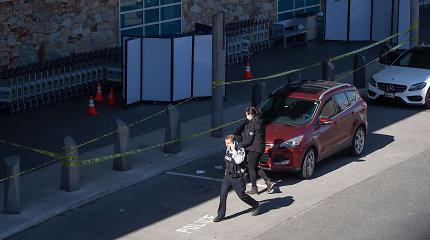 Prie Vankuverio oro uosto nušautas vyras