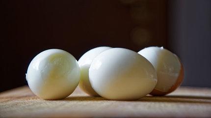 Jei nepavyksta gražiai nulupti virto kiaušinio, pagelbės išradingi metodai