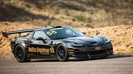 """""""Dynami:t Energy Racing"""" standartinė """"Corvette"""" tapo lenktyniniu žvėriuku: ar sulauksime naujų rekordų?"""