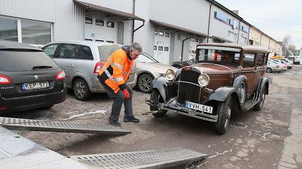 "Eksperimentas: techninė apžiūra 1929 m. pagamintam ""Dodge Victory Six"""