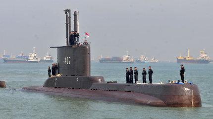 Kinijos karinis laivynas ruošiasi padėti Indonezijai iškelti nuskendusį povandeninį laivą