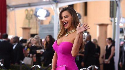 """""""Forbes"""": """"Modernios šeimos"""" žvaigždė Sofia Vergara – daugiausia uždirbanti televizijos aktorė"""