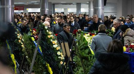 Kijeve atsisveikinama su Irane įvykusios aviakatastrofos aukomis