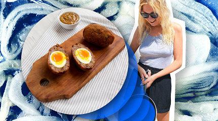 """Karantino kuchnia"": įdomesniam Velykų stalui – škotiški kiaušiniai faršo apvalkale"