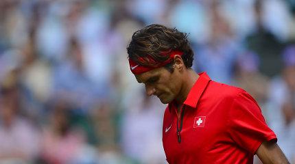Oficialu: Tokijuje R.Federeris sieks trečiojo olimpinio medalio