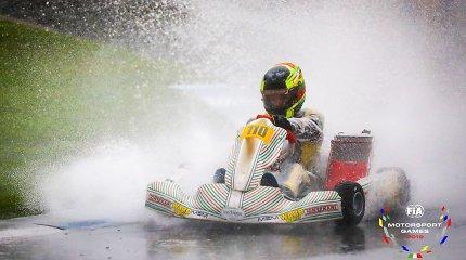 """""""FIA Motorsport Games"""" Lietuvai atstovaujančių kartingo vairuotojų laukia daug nežinomųjų"""