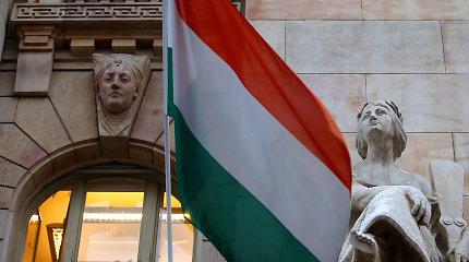 Vengrijos centrinis bankas pirmą kartą per dešimtmetį padidino bazinę palūkanų normą