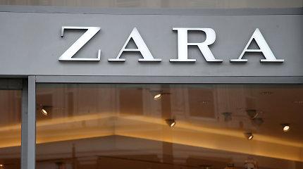 """""""Zara"""" savininkė planuoja savo anglies pėdsaką iki nulio sumažinti 10 metų anksčiau"""