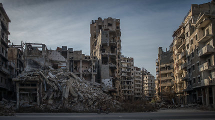 Aplink Homsą nutilo ne tik bombardavimai, bet ir šūviai