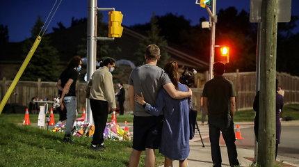 """Kanadoje per """"tyčinę"""" ataką žuvo keturi vienos musulmonų šeimos nariai"""