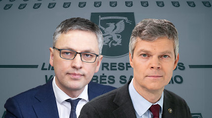 VSD tikrino tik G.Nausėdos ar visų kandidatų aplinką? D.Jauniškio ir V.Bako versijos skiriasi