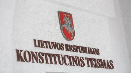 Vyriausybė teikia Seimui projektus dėl individualaus konstitucinio skundo