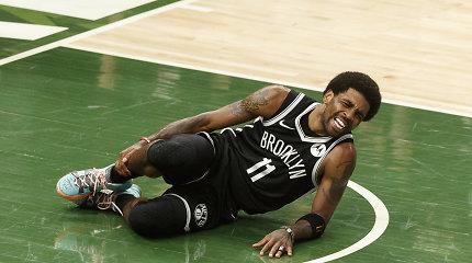 """""""Nets"""" nelaimė: vėl pralaimėjo ir prarado Kyrie Irvingą"""