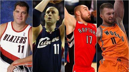 Testas: kurie iš šių 20 lietuvių žaidė NBA, o kurie – ne?