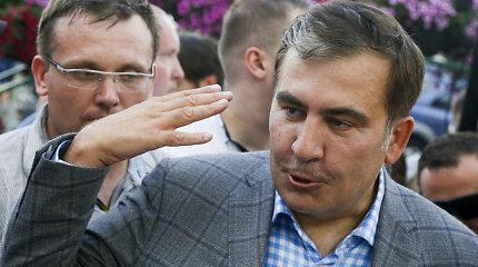 M.Saakašvilis nedalyvaus Ukrainos parlamento rinkimuose su V.Klyčko partija