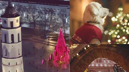 Kalėdinėje Vilniaus reklamoje – nauja populiarios kalėdinės giesmės versija