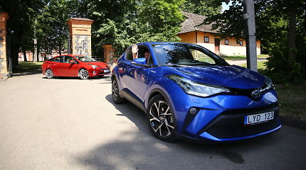"""""""Auresa"""" eko žygio dalyviai važiavo dar ekonomiškiau nei deklaruoja """"Toyota"""" gamintojas"""