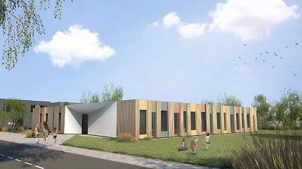 Domeikavoje duris atveria išskirtinės architektūros darželis: savivaldybė patalpas nuomosis