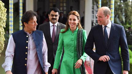 Kembridžo hercogai lankosi Pakistane