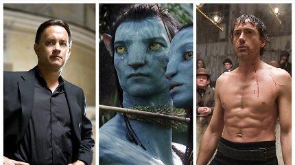 Testas: šie 12 filmų pasirodė prieš 12 metų. Kiek iš jų žinote?