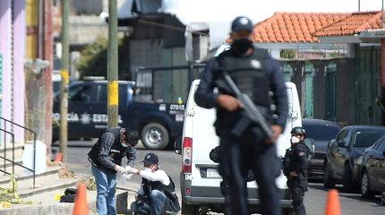 Meksikoje nužudyti du žurnalistai