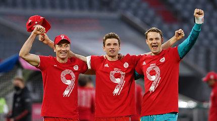 """""""Bayern"""" čempionišką vakarą pažymėjo šešiais įvarčiais į varžovų vartus"""