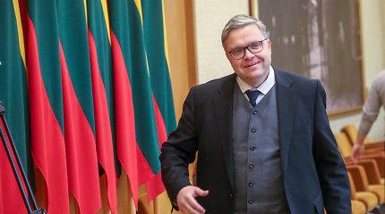 V.Vasiliauskas: konkurencingam valstybiniam komerciniam bankui reikėtų apie 1 mlrd. eurų