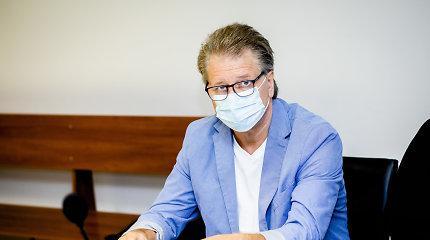 S.Čaplinskas: įvedus privalomą kaukių dėvėjimą, galimybių paso reikalavimas netenka prasmės