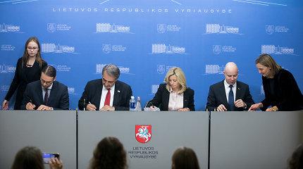 Raudonasis Kryžius sutarė bendradarbiauti su Vyriausybe per krizes