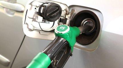 Benzinas Baltijos šalyje pernai brango 13–16 proc., dyzelinas – 5–10 proc.