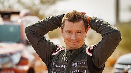 Antanas Juknevičius pristatė 2021-ųjų Dakaro filmą: pamatykite dykumų lenktynių grožį